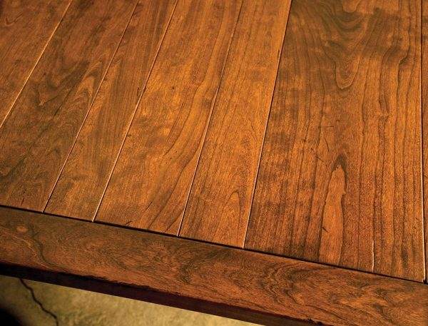Jacoby Leg Table - Top Detail