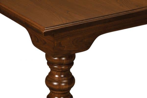 Fenmore Leg Table - Detail