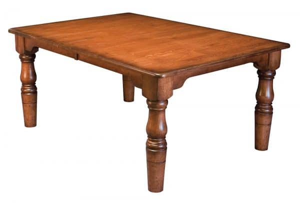 French Farmhouse Leg Table
